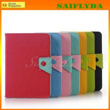 High quality folio leather case for ipad mini MOZ
