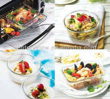 High quality glass food portable vacuum storage container houses
