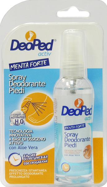 DEOPED ACTIV deodorant Spray Piedi Con Aloe Vera 100 Ml
