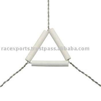 Clay triángulo de la pipa