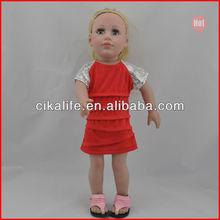 18 Inch safety fit american girl doll black cloth dolls