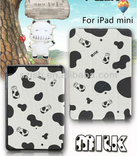 For ipad mini smart case, cheapest factory cute leather cases for ipad mini