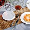 Chinese white & blue porcelain: coffee & tea sets
