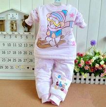 soft Santa Claus pattern baby 100% cotton suit set(2 pcs)