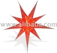 Red Handmade Paper Star