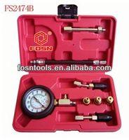 Petrol Engine Compression Test Kit Compression Tester Car Tools professional universal auto diagnostic tool
