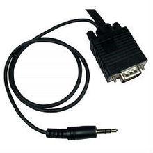 20m VGA plus audio cable HD15 plus 3.5mm jack plug