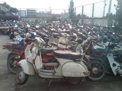 USED MOTORCYCLE YAMAHA MATE