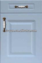 light blue disassemble kitchen cabinet pantry design