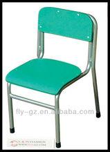 Guangzhou Flyfashion KF-16 manufacturing kids furniture/cute wood colorful kids chair