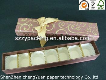 7PCS packed rectangle paper cake box