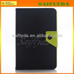 High Quality Korean Style Book Flip Belt Clip for iPad Mini Case