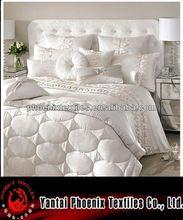 new design pillowcase/silk bedspreads