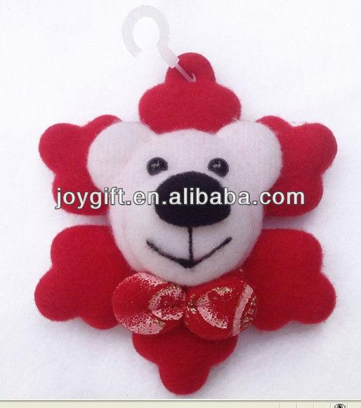 Christmas ornaments bear toys home decoration