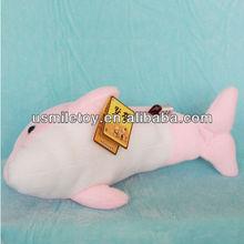 plush toy manufacturer making pink dolphins