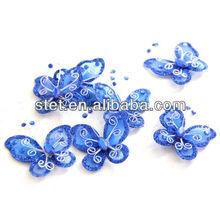 2013 Hot Sale Craft Glitter Wholesale Nylon Butterflies Decorations