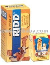 Ridd - solución Amitraz producto para mange del animal doméstico perros