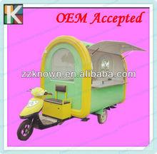 2.5M mobile electric hot dog car/hot dog vending cart