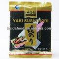 Yaki nori alga roasted( ouro) secas frutosdomar lanches japão