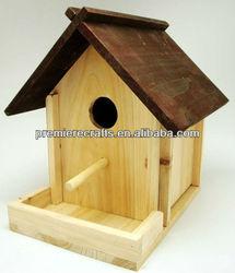 wooden bird nest bird cage