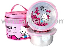 Hello Kitty Lunch Box - Stainless Steel (Round) / Hello Kitty Wholesaler