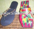 Rasta Colour Flip Flops