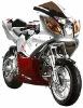 110cc Four Stroke Super Pocket Bike (Larger Size) W Lights, Electric Start