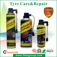 selante de pneus e inflador/ lash-up aerosol tire fixer and inflator manufacturer/ factory