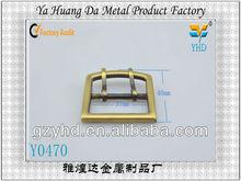 Fashion steel custom belt buckle for bag accessory
