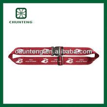 Sublimation custom luggage belt with buckle