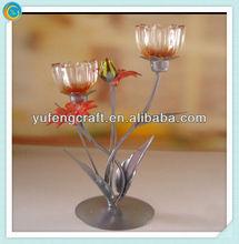 tall metal candlestick