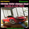 2013 Top Quality wholesaler bubbles free Chrome Vinyl film trustworthy stretch film distributors