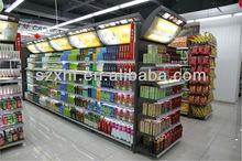 3 ways Supermarket Gondola Shelf rack