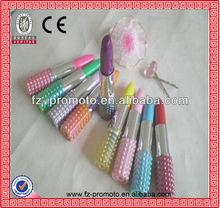 Plastic Promotional lipstick pen rouge ball pen