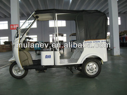 ^ three wheel motorcycle / electric tricycle for passenger