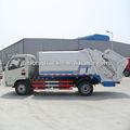 dongfeng 4x2 de lixo da compressão do caminhão de transporte
