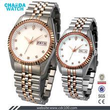 classic super lovers quartz watch ss