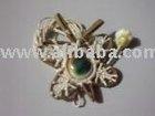 Island Style Pandanus Seashell Necklace