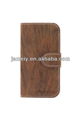 Good PU leather wallet Case mobile phone case for Samsung Galaxy S4