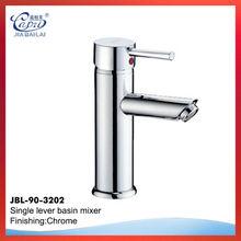 Single lever basin chrome plated bar faucet