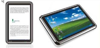 Ebook reader E-book reader E10 with windows CE system used as a mini computer
