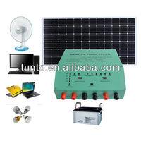 20A 12V solar power inverter with controller for solar home system S604,moisture resistant, aluminum casing