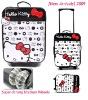 Hello Kitty Suitcase Trolley Luggage - White