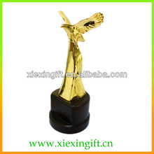 3D metal eagle award trophy