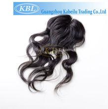 "Natural black 2.5""*4"" swiss lace virgin brazilian hair lace closure"