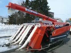 USED KUBOTA RICE HARVESTING MACHINE
