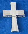 Nuevo diseño sin terminar santa cristiana cruz de madera