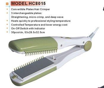 Hair Crimper, Hair Straightener, Curler