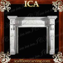 unique fireplace mantel,unique stone fireplace design,western antique fireplace mantel