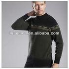 fashion men Cashmere sweater pullover/2013 new design/Excellent antipilling